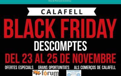 Black Friday a Calafell amb col·laboració del Fòrum
