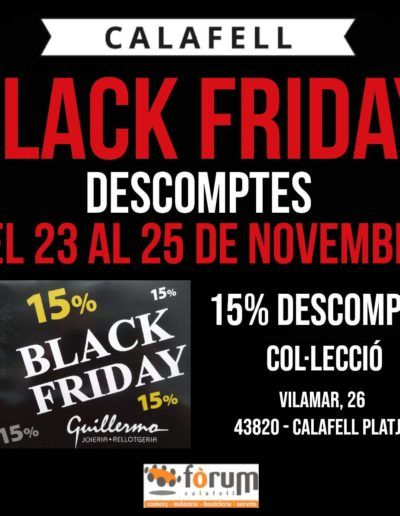 joieria-guillermo-Black-Friday-2018-forum-calafell