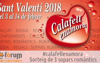 Sopar Romàntic del Calafell Enamora 2019.
