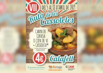 VII Ruta de les Cassoletes #calafell