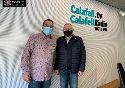 Miquel Pujante a Calafell Ràdio 09/03/2021