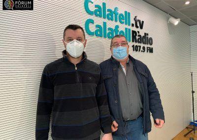Brino i Las Brasas a Calafell Ràdio 19/01/2021