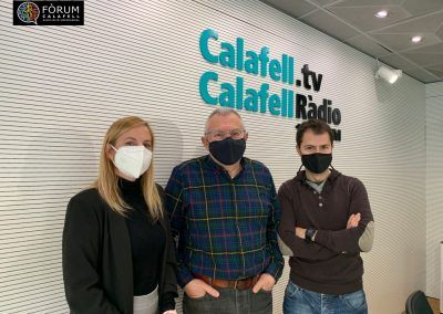 Yolanda a Calafell Ràdio  02/03/2021