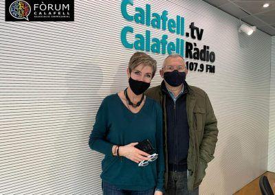 Mercedes Bergues a Calafell Ràdio 23/02/2021