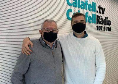 Luis Espuis a Calafell Ràdio 04/02/2021