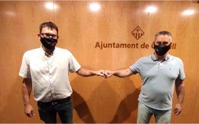 Calafell i Cunit reclamaran conjuntament una comissaria dels Mossos i un parc de Bombers