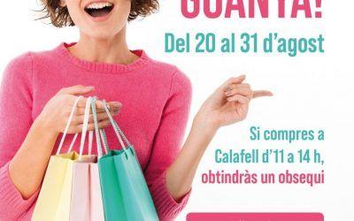 Calafell posa en marxa una campanya per incentivar les compres en les hores de menys afluència al comerç